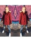 Куртка парка зимова дитяча для дівчинки