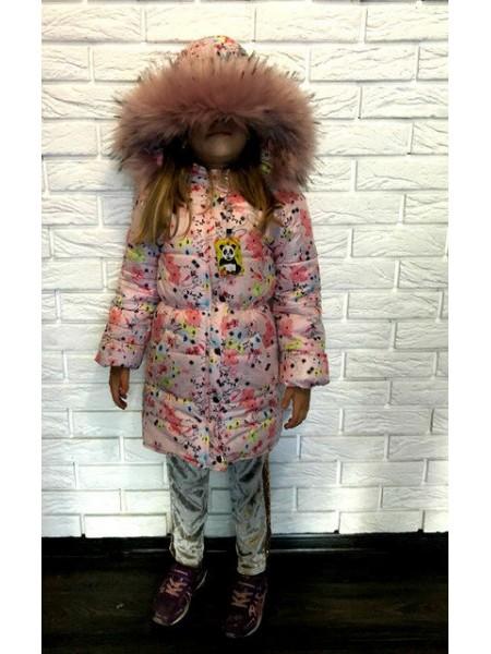 Теплая зимняя куртка для девочки