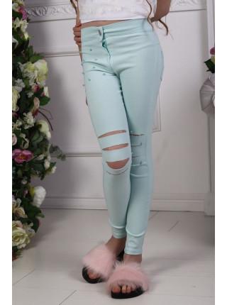 Модні літні джинси для дівчинки