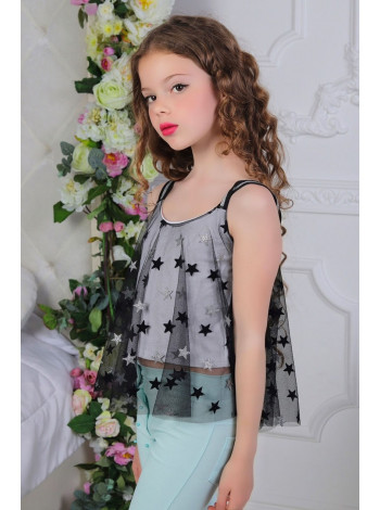 Нарядна блузка топ для дівчинки