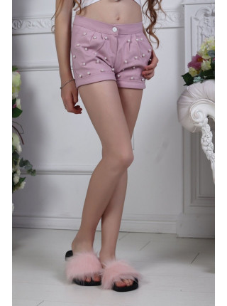 Модные короткие шорты для девочки