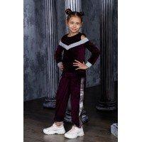 Дитячий спортивний костюм велюровий