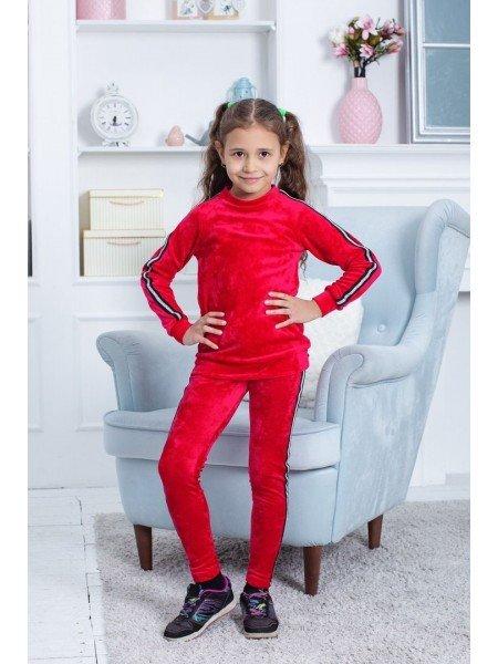 Модний спортивний велюровий костюм