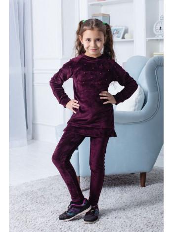Дитячий спортивний костюм із подовженою кофтою