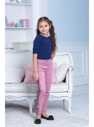 Стильные замшевые брюки для девочки