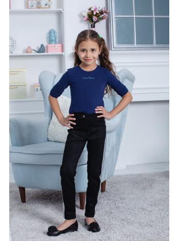Стильні замшеві штани для дівчинки