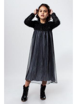 Нарядне тепле плаття для дівчинки
