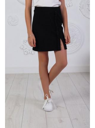 Короткая модная юбка для школы