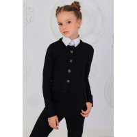 Модный школьный пиджак для девочки