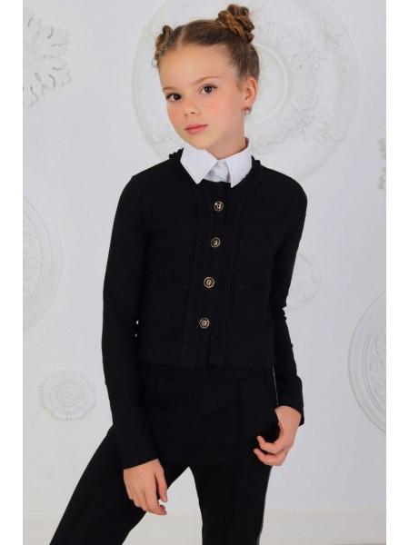 Модний шкільний піджак для дівчинки