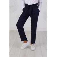 Стильні шкільні брюки для дівчинки