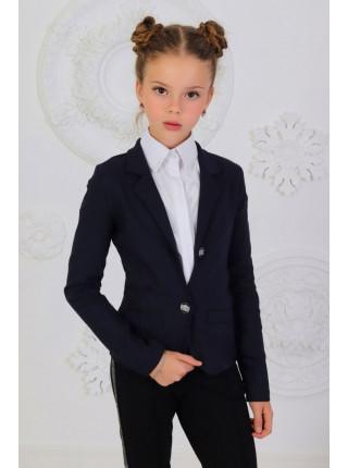 Класичний шкільний піджак для дівчинки