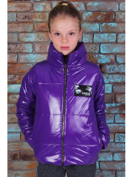 Детская осенняя короткая куртка для девочки