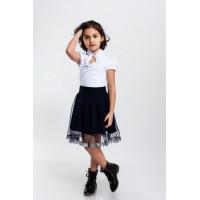 Красивая детская юбка для девочки