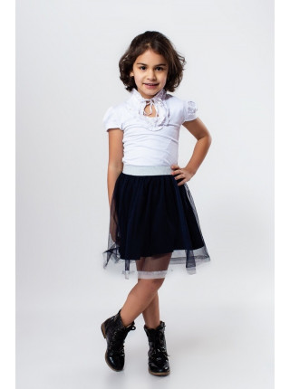 Короткая красивая юбка для девочки