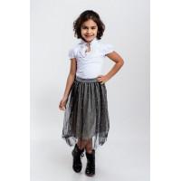 Детская нарядная юбка для девочки