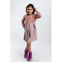 Детское платье с длинным рукавом для девочки