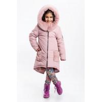 Зимняя детская куртка для девочки