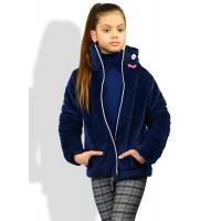 Дитяча велюрова куртка для дівчинки