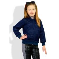 Дитячий легкий модний бомбер для дівчинки