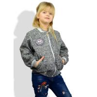 Модний дитячий бомбер для дівчинки