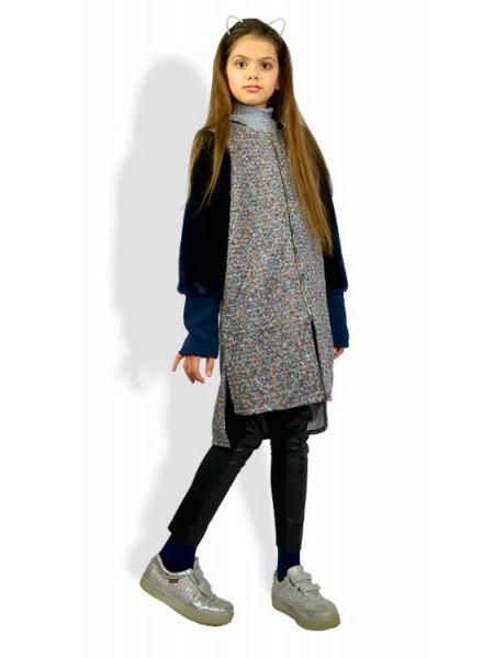 Модний теплий кардиган для дівчинки