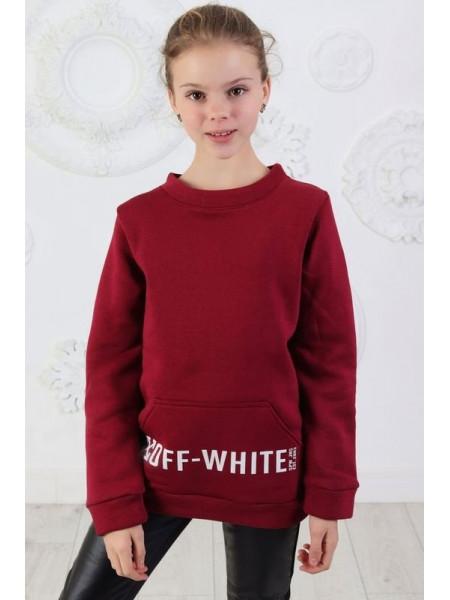 Дитяча модна толстовка на флісі