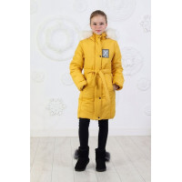 Дитяча зимова куртка пальто із капюшоном