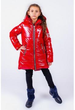Дитяча зимова куртка для дівчинки з карманами
