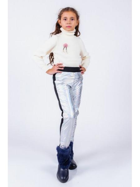 Детские зимние штаны на флисе