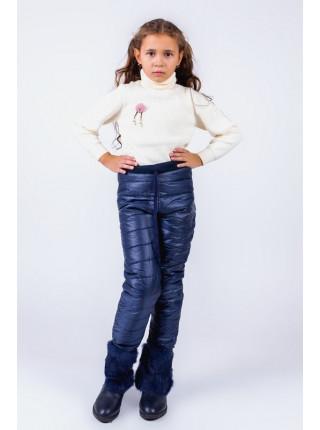Дитячі зимові штани на флісі
