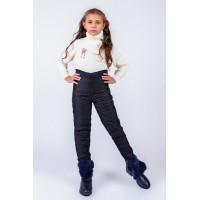 Детские зимние штаны на синтепоне