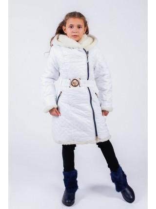 Теплое зимние пальто для девочки
