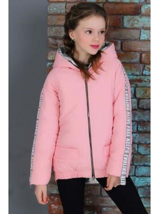 Стильная детская куртка с капюшоном