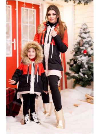 """Дитяча куртка для дівчинки """"Аляска"""""""