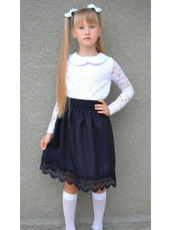 Гіпюрова блуза дитяча