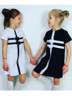 Детской платье с бантиками