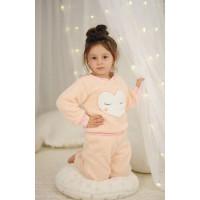 Детский махровый костюм для девочки