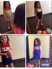 Літнє плаття для дівчинки в спортивному стилі