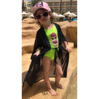 Дитяча пляжна туніка-парео