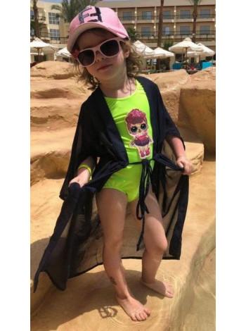Детская пляжная туника-парео