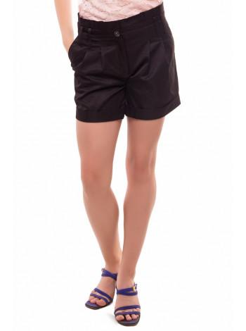 Черные детские шорты для девочки