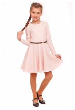 Элегантное платье для девочки с украшением