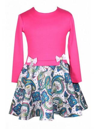 Красивое короткое платье на девочку
