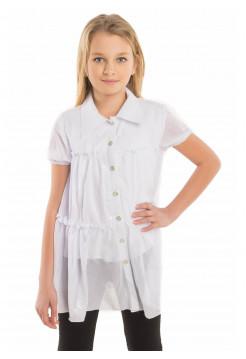 Школьная блузка разлетайка для девочек