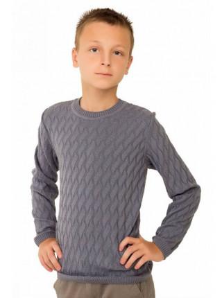 Вязаный свитер на мальчика