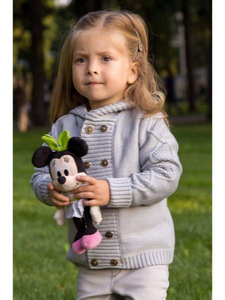 Дитячий кардиган з капюшоном