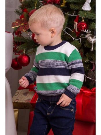 Вязаная детская кофта для малыша