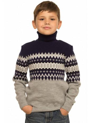 Дитячий светр з геометричним малюнком