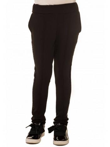 Черные детские штаны для девочки